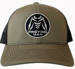 PREYING MAN Hat Green / Charcoal