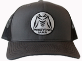 PREYING MAN Hat Silver / Charcoal