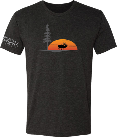 Sunset Bull T-Shirt