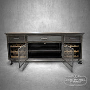 87-in SpeakEasy Wine Credenza