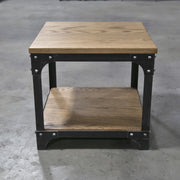 Industrial End / Side Table
