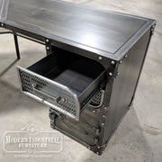 Modern Industrial L-Desk