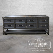 Dempsey Sofa Table - 8-drawer