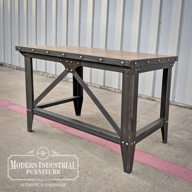 Machinist Desk with Brace