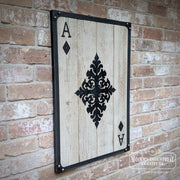 Ace of Diamonds Wall Art