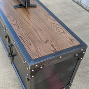 Add-on Option - Riveted Wood Top