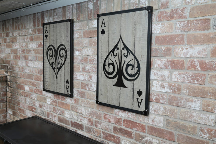 Set of Aces Wall Art