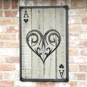 Ace of Hearts Wall Art
