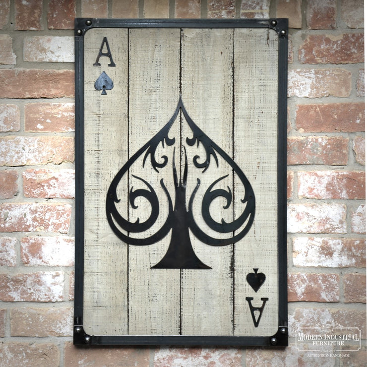 Ace of Spades Wall Art