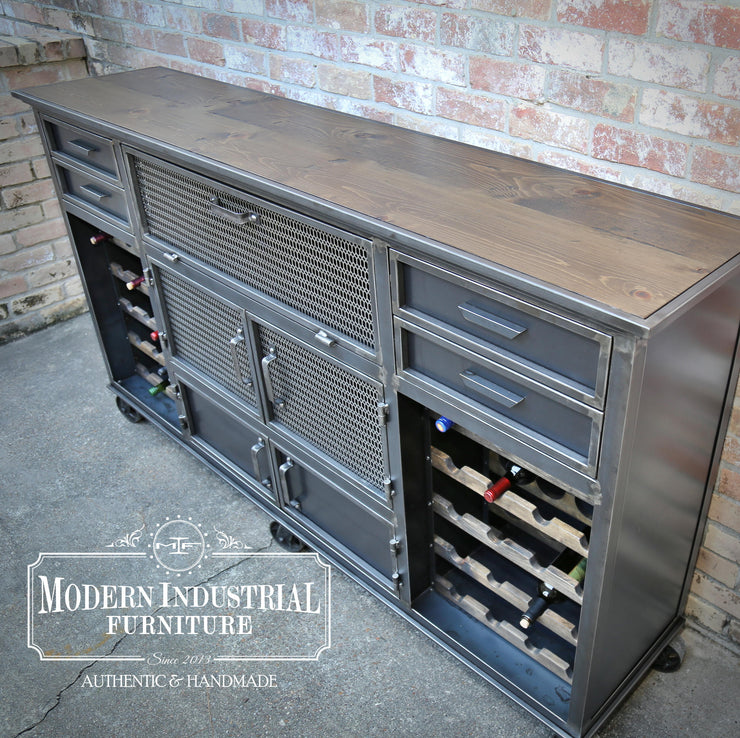 SpeakEasy Wine Cabinet