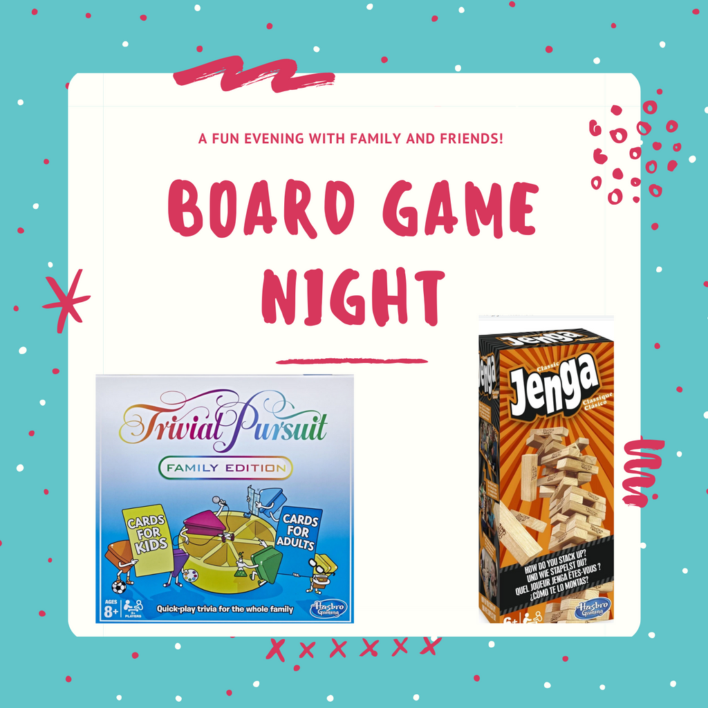 Enjoy a night in with our family fun board games!
