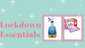 Check out our lockdown essentials!