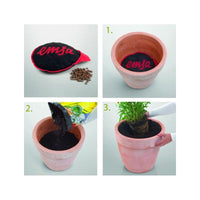 Plant Pot Easy Drain No water logging,Frost Protection,Retain Moisture 13in Emsa