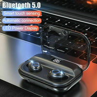 Wireless Bluetooth 5.0  Earphones Charging Box Sports Waterproof Earbuds