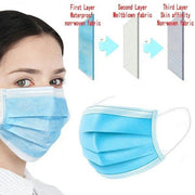Face Mask CE Reusable Protective Mouth Nose Covering Breathable