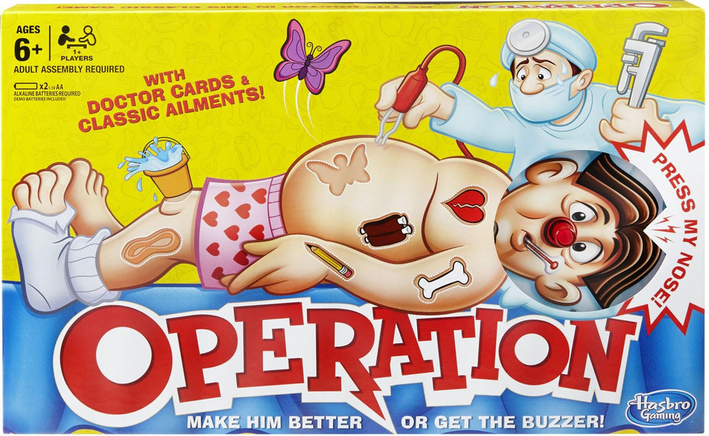 Operation game Classic Children's Family Game