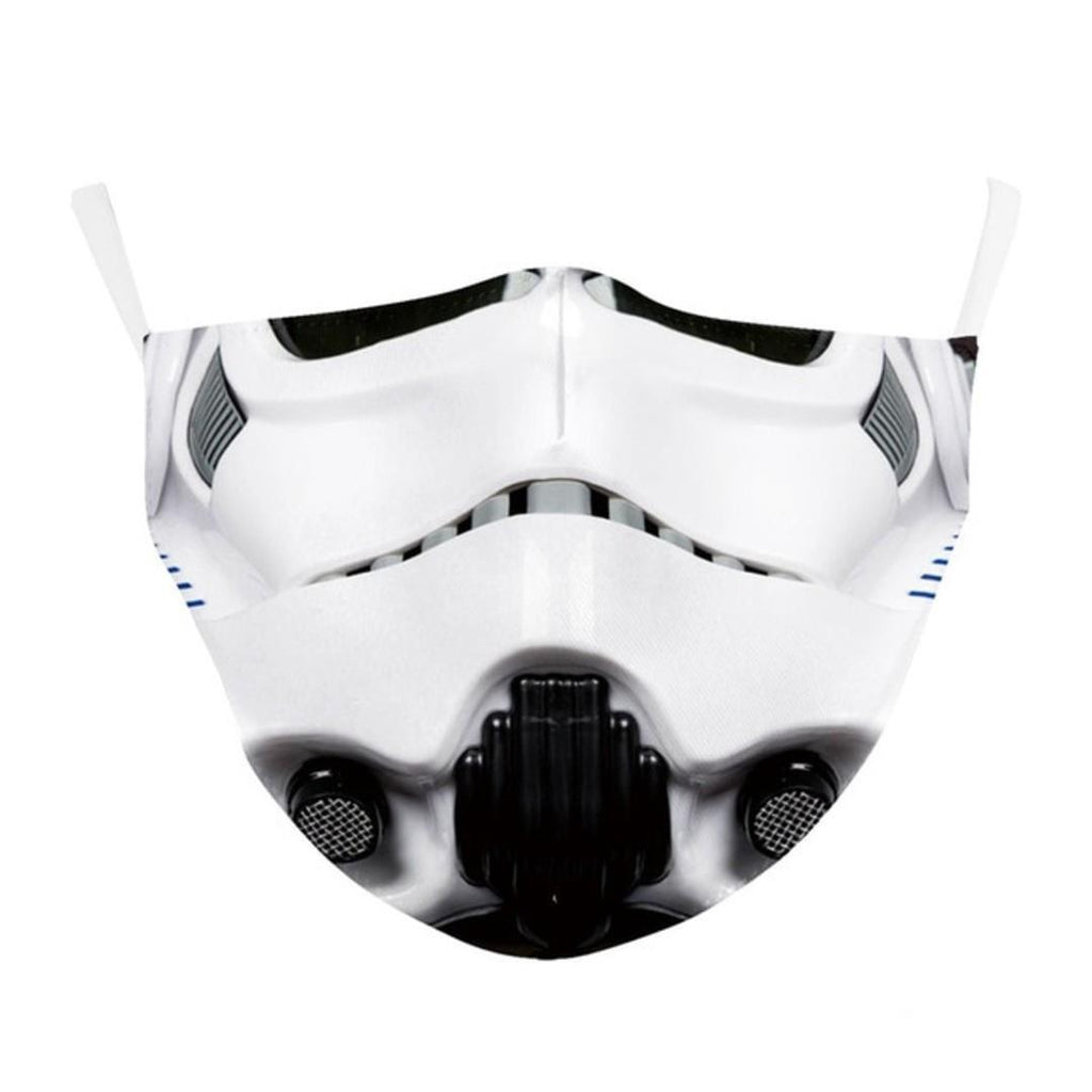 Star Wars Stormtrooper Face Mask ADULT Washable Reusable Mouth Nose Cover Protection Breathable