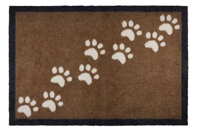 Groundsman Indoor Patterned Mat Paws Size 50 x 75cm