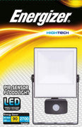 Floodlight Energizer 30W LED IP44 Includes PIR Sensor Home Office Garden Drive