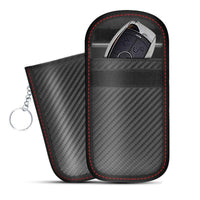 RFID Signal Anti-Theft Blocker Case Faraday Pouch Wallet For Wireless Car Keys