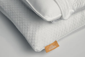 Luxury Bamboo Fibre Pillowcase | Queen Size | White