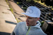 Load image into Gallery viewer, EJ division - Lofsdalen White Snapback Cap - EJ division