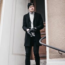 Load image into Gallery viewer, EJ division - Zermatt Black Beanie - EJ division