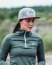 Load image into Gallery viewer, EJ division - Rocky Mountain Grey/Red Snapback Cap - EJ division