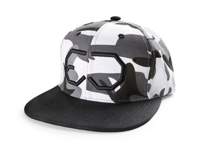 EJ division - Backcountry Camo/Black Snapback Cap - EJ division