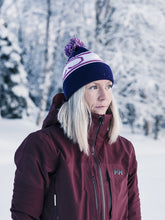 Load image into Gallery viewer, EJ division - St Moritz Purple/Pink Beanie - EJ division