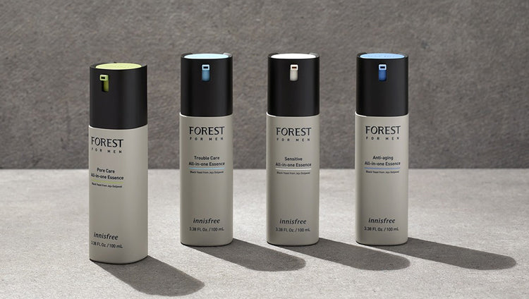 INNISFREE Forest For Men Pore Care All-In-One Essence | BONIIK Best Korean Beauty Skincare Makeup in Australia