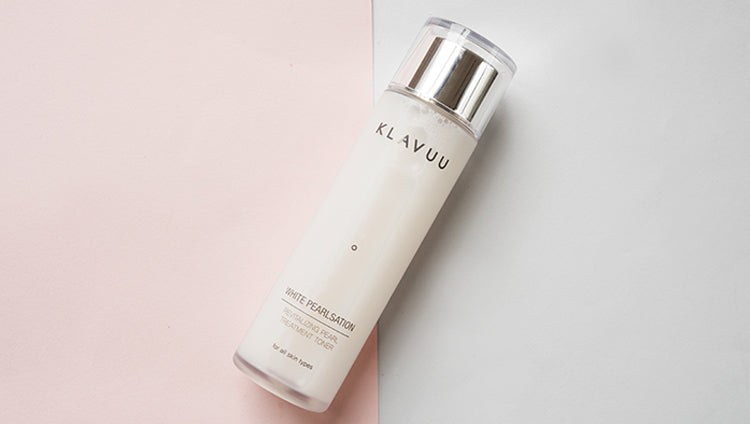 KLAVUU White Pearlsation Revitalizing Pearl Treatment Toner | Brightening and Whitening Skincare | BONIIK Best Korean Beauty Skincare Makeup in Australia