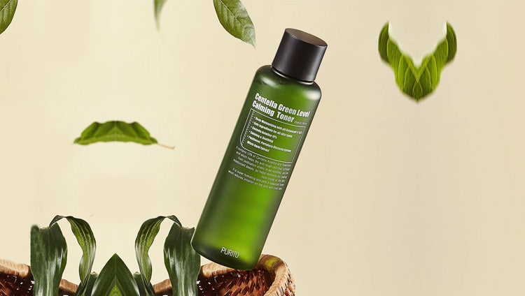 PURITO Centella Green Level Calming Toner | BONIIK Best Korean Beauty Skincare Makeup in Australia