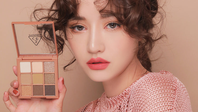 3CE Mood Recipe Multi Eye Color Palette #Plot Twist | Korean Makeup Look | BONIIK Best Korean Beauty Skincare Makeup in Australia