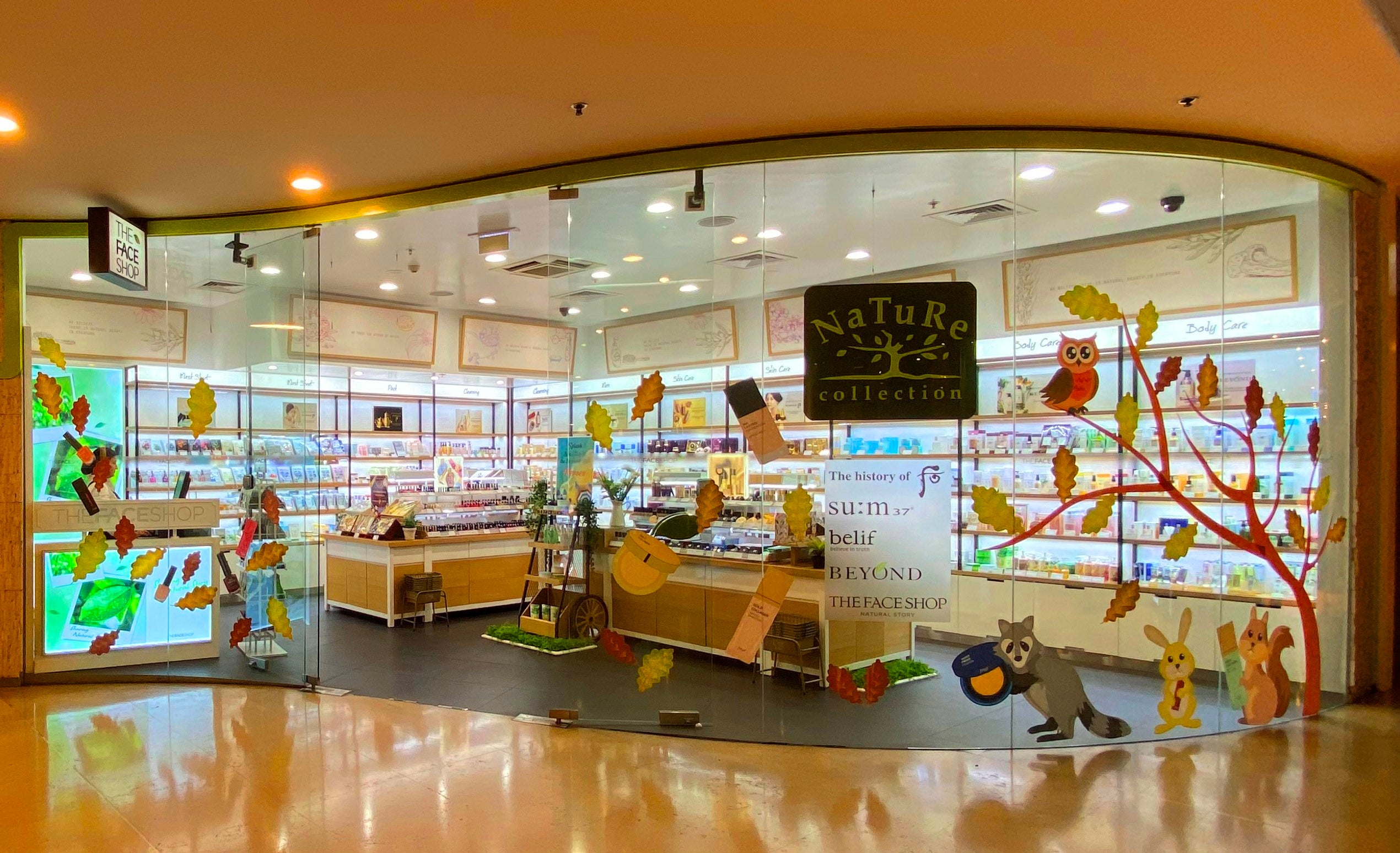 THE FACE SHOP SYDNEY STORE
