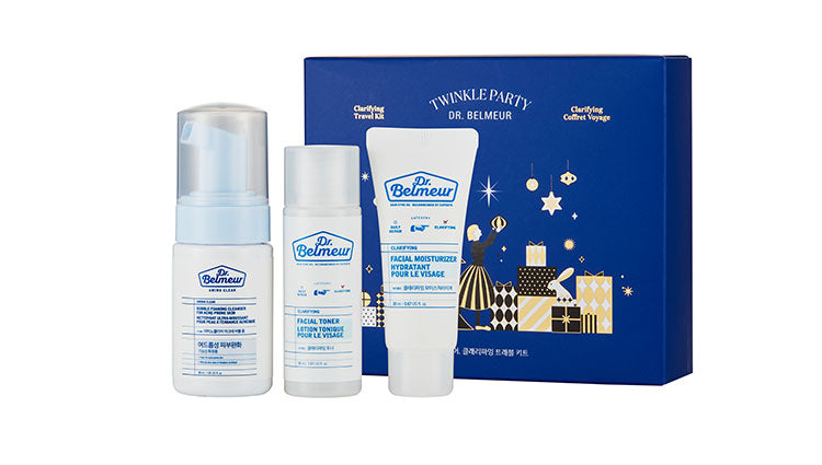 THE FACE SHOP Dr. Belmeur Clarifying Holiday Travel Kit | Holiday sets | BONIIK