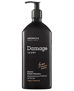 AROMATICA Quinoa Protein Shampoo | Nourishing Hair Care | BONIIK Best Korean Beauty Skincare Makeup in Australia