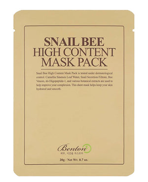 BENTON Snail Bee High Content Mask Pack | Skin Care | BONIIK
