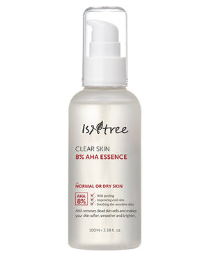 ISNTREE Clear Skin 8% AHA Essence | Brightening Skincare | BONIIK