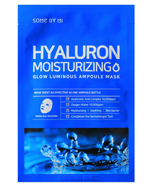 SOME BY MI Hyaluron Moisturizing Glow Luminous Ampoule Mask | MASK | BONIIK