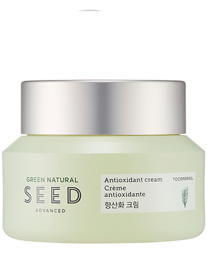 THE FACE SHOP Green Natural Seed Antioxidant Cream | MOISTURISER | BONIIK