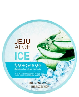 THE FACE SHOP Jeju Aloe Ice Refreshing Soothing Gel | MOISTURISER | BONIIK
