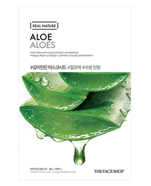 THE FACE SHOP Real Nature Aloe Mask Sheet | MASK | BONIIK