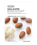 THE FACE SHOP Real Nature Shea Butter Mask Sheet | MASK | BONIIK