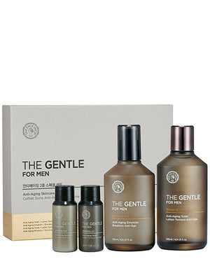 THE FACE SHOP The Gentle For Men Anti-Aging Skincare Gift Set | SALE | BONIIK