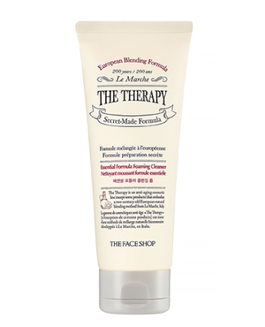 THE FACE SHOP The Therapy Essential Foaming Cleanser | BONIIK