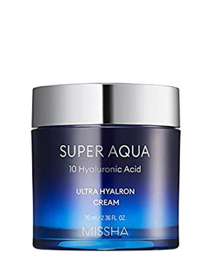MISSHA Super Aqua Ultra Hyaluron Cream | Moisturiser | BONIIK | Best Korean Beauty Skincare Makeup in Australia