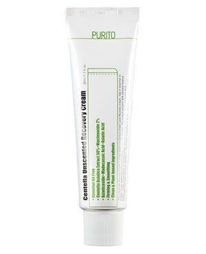 PURITO Centella Unscented Recovery Cream | Moisturiser | BONIIK | Best Korean Beauty Skincare Makeup in Australia