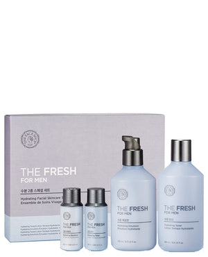 The Fresh For Men Hydrating Facial Skincare Set