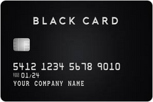 Load image into Gallery viewer, Custom Black/Titanium Card Prop